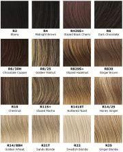 ash blonde hair color chart - google
