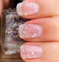 NYX Ice Glitter (209) Salon Formula Nail Polish Review ...