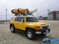 Thule roof rack kayak carrier pics
