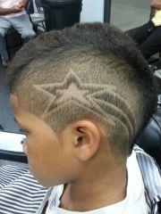 star design hair cuts loren