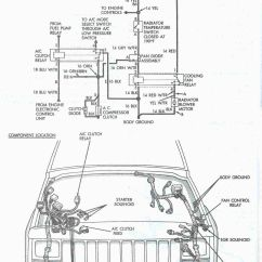 1996 Jeep Cherokee Pcm Wiring Diagram Plug Switch Light At The Asd Relay If Vole Is Not B16 Check Fuse 20 30 A