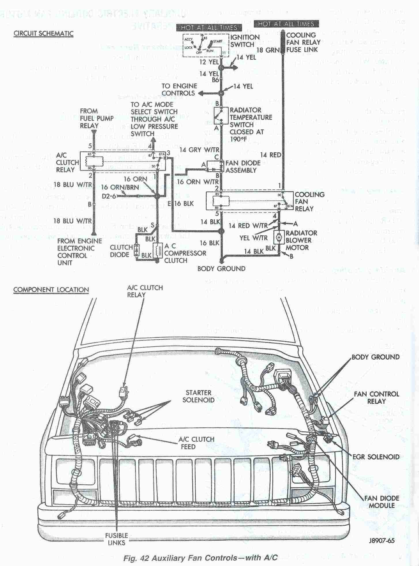 96 jeep cherokee ignition wiring diagram dodge 4 wire oxygen sensor at the asd relay if vole is not b16 check fuse 20 30 a