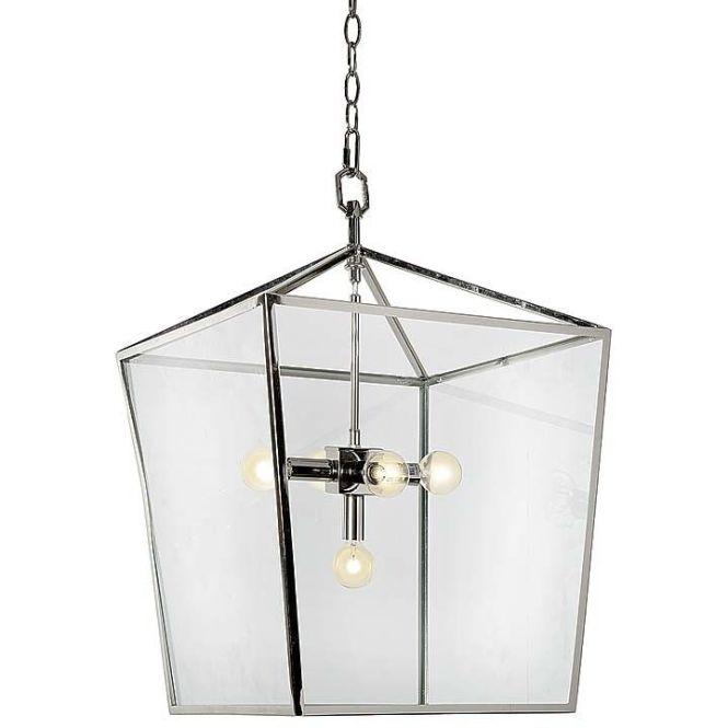 Camden Lantern In Polished Nickel By Regina Andrew Design