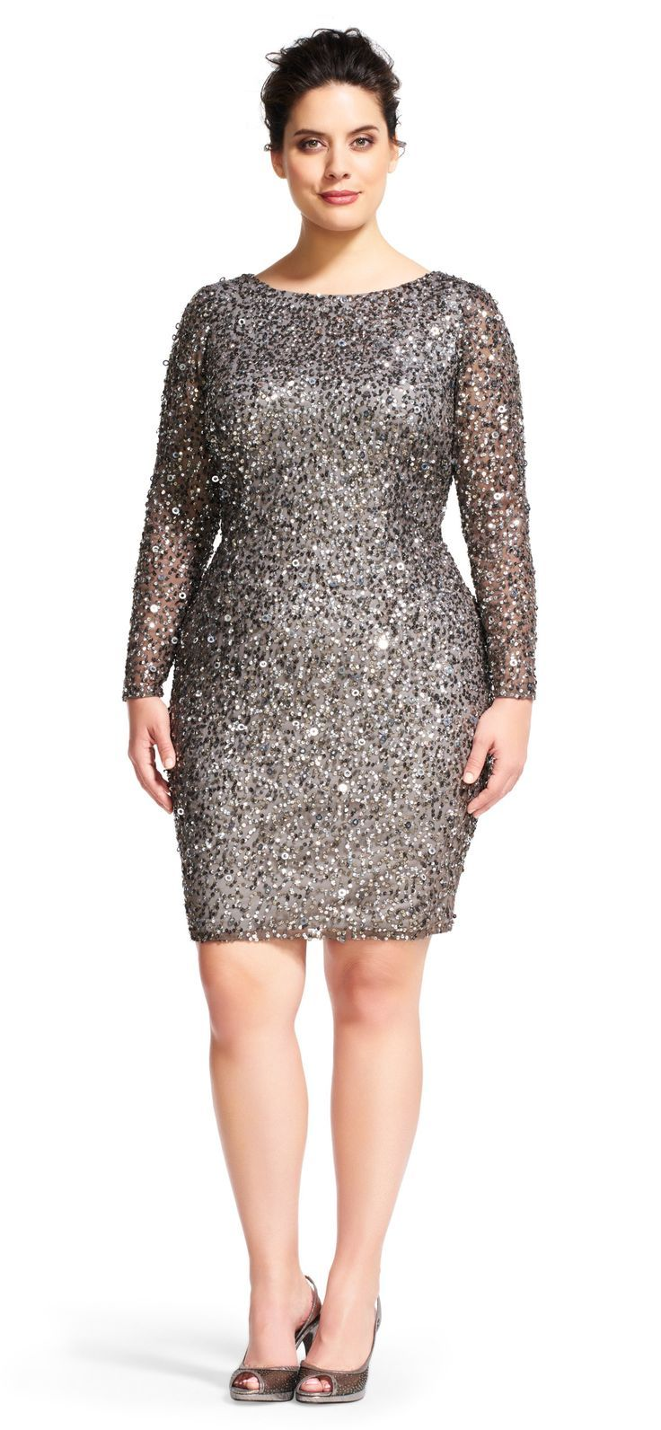 36 Plus Size Wedding Guest Dresses with Sleeves  Wedding