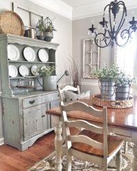Shabby chic dining room | Farmhouse style | Pinterest ...