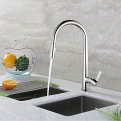 Ebay Kitchen Faucets Hood For Spring Pull Down Single Handle Faucet With Sprayer All Brass Sink Tap