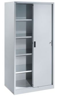 Awe-inspiring Storage Cabinets with Doors also Adjustable ...