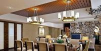 Dining Room Ceiling Designs | Wooden Ceiling Installation ...