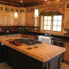 Rustic Hickory Kitchen Cabinets Counter Materials Best 25 43 Ideas On Pinterest