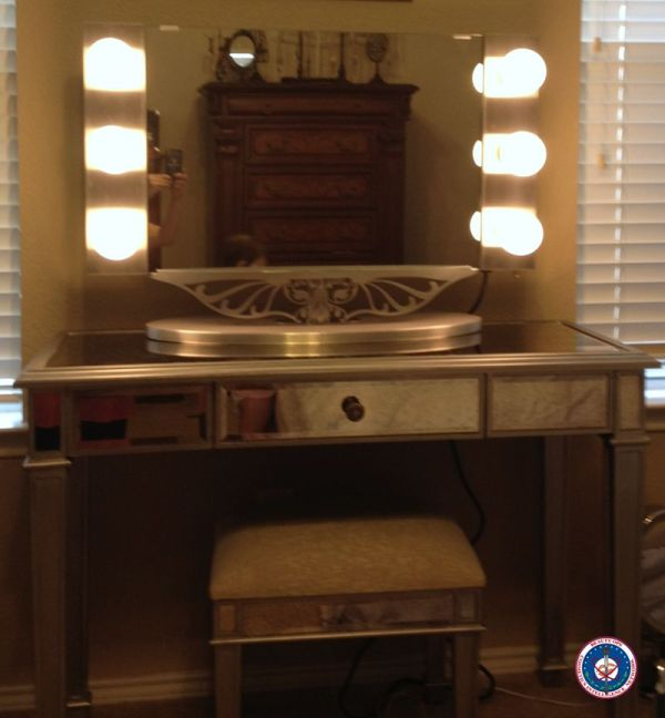 Vanity Girl Hollywood Mirror with Lights