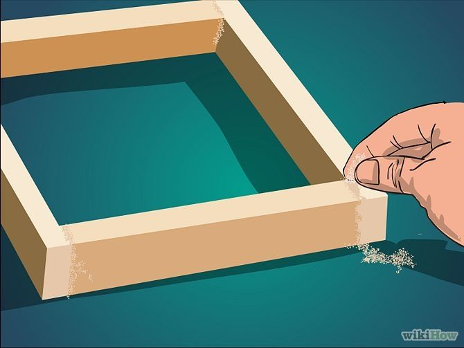 How To Make A Box Frame Out Of Wood Frameswalls