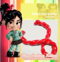 Wreck-It-Ralph Vanellope's Licorice Hair Tie | Vanellope ...