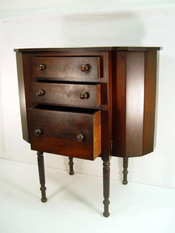 Antique Martha Washington sewing cabinet by Hekman