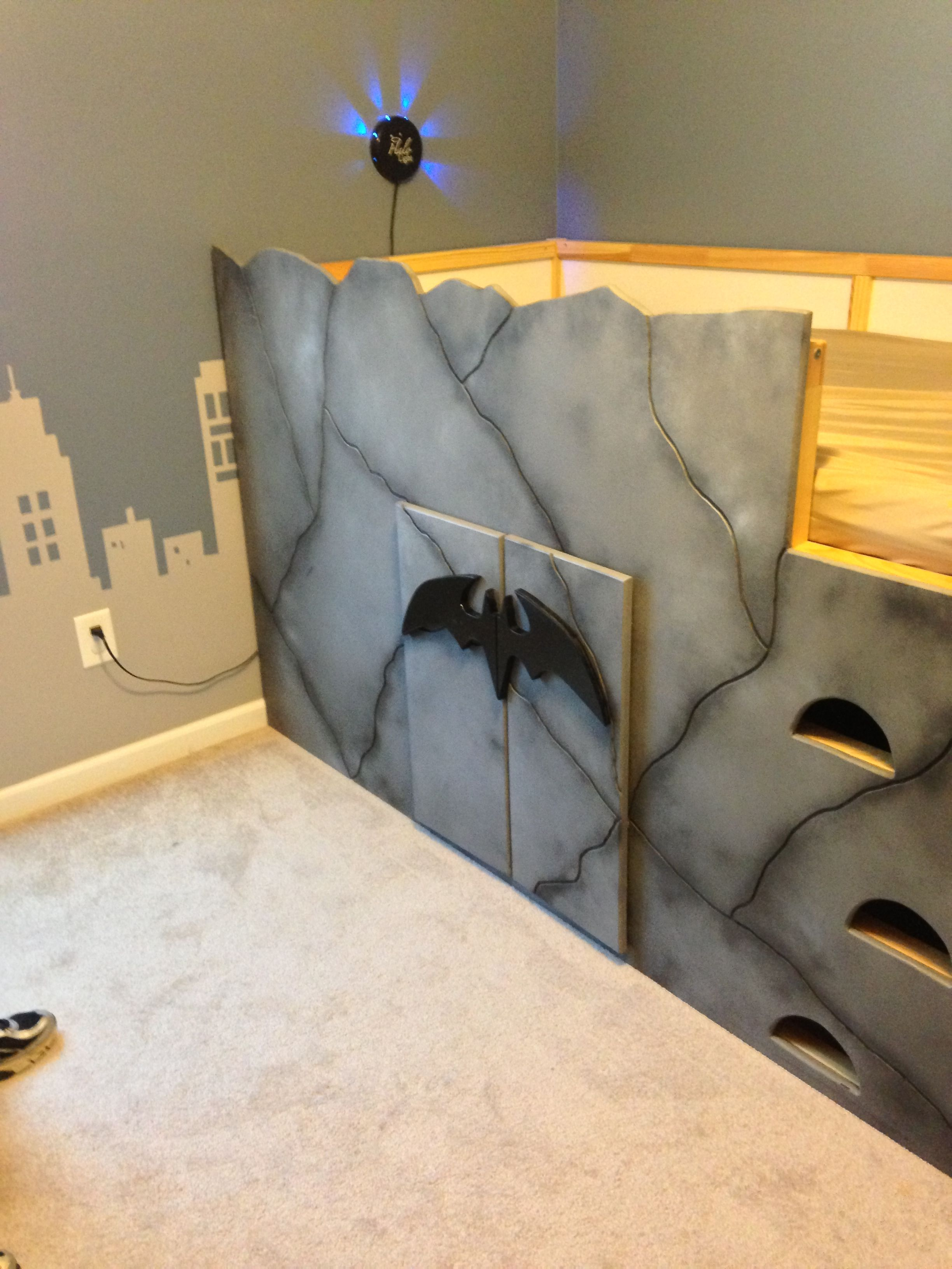 Bat Cave For My Trey Man We Started With An Ikea Junior