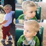toddler boy hipster haircut bubby