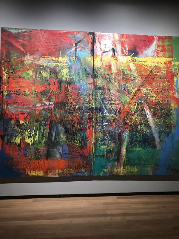 Gerhard Richter Ab Mediation Piece Of Arts