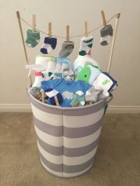Baby Boy baby shower gift! (Idea from my mother