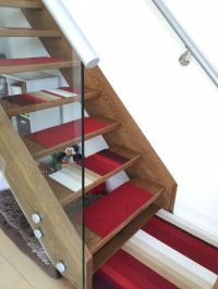 DIY stair treads from FLOR carpet tiles   Designing my Pad ...
