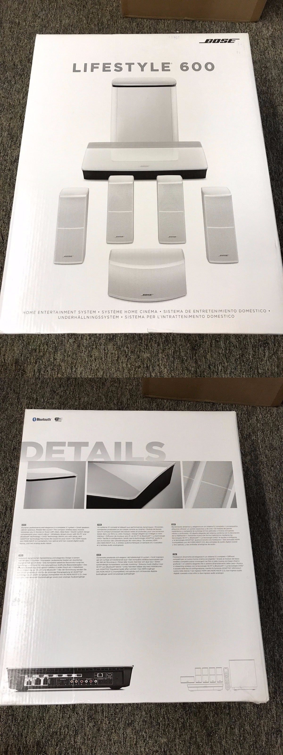 Home theater systems bose white lifestyle entertainment system   buy it also rh pinterest