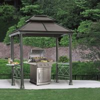 Aluminium gazebo from Costco. Intended as a cover for ...