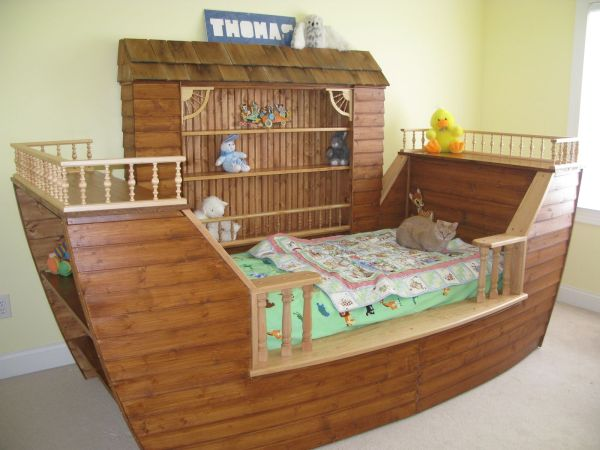 Child' Noah' Ark Bed Products Love