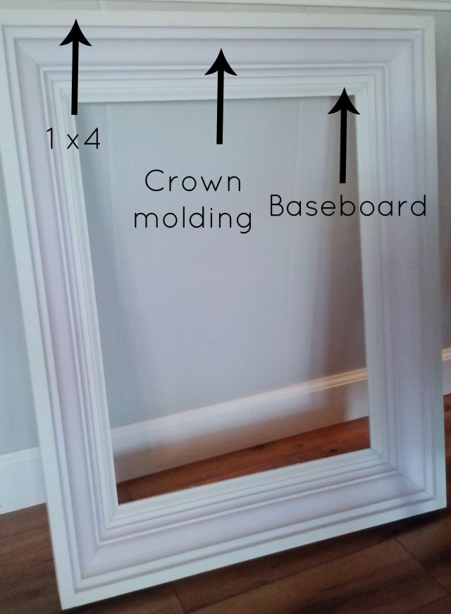 Build a Custom Frame out of Trim Pieces