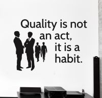 Vinyl Wall Decal Office Quote Inspire Motivation Decor