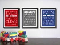 Nursery art print, Star Wars Decor, Children Decor ...