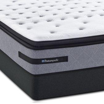 Queen Sealy Posturepedic Cooper Mountain Iii Cushion Firm Euro Pillow Top Mattress