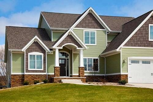 Luxury House Vinyl Home Siding Exterior Design Some Ideas And
