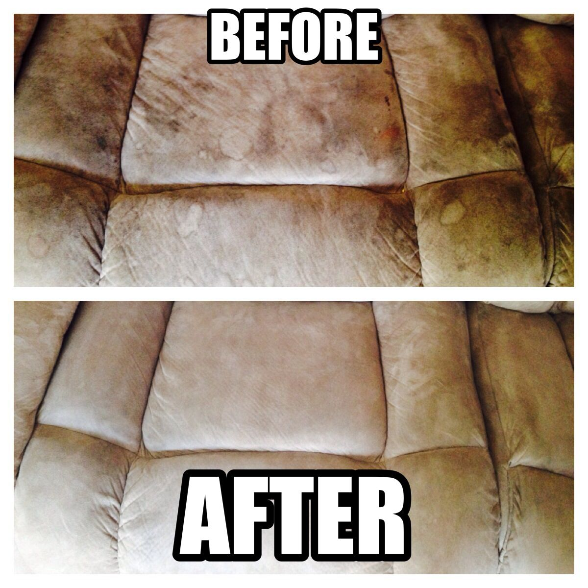 how to clean stains from a microfiber sofa best chesterfield your dingy couch with household items 4