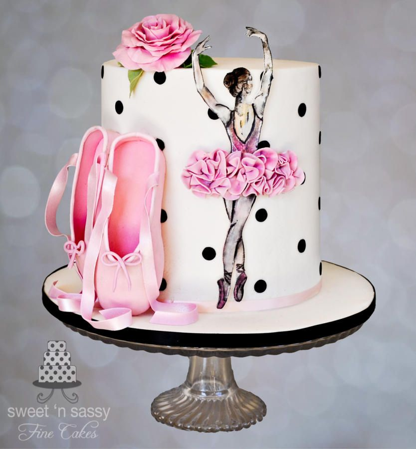 Probably my favorite Ballet cake so far I just love the