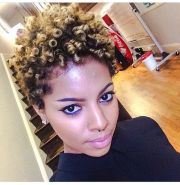 tapered coils 4a 4b natural hair