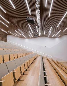 Gallery of midwest commodity exchange center interdesign associates hugo kohno architect also rh pinterest