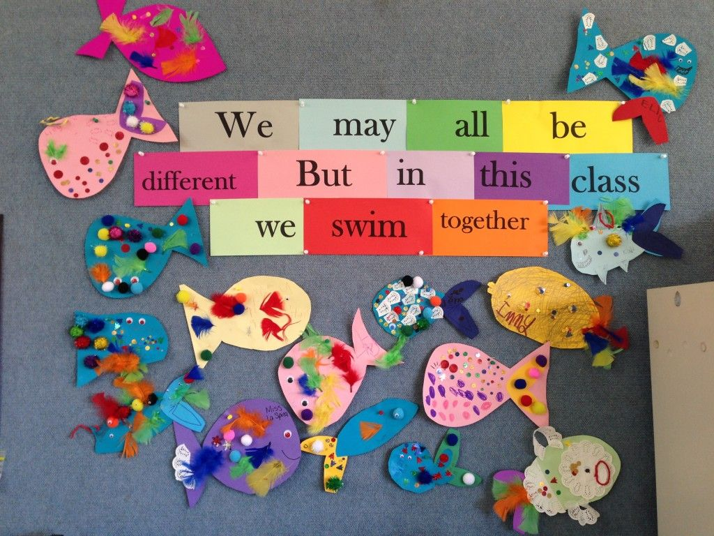 Rainbow Fish Community Building Activity We May All Be Different