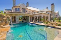 Dream House | A pool in the front of the house is a bit ...