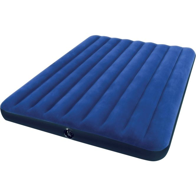 Intex Queen 8 75 Classic Downy Inflatable Airbed Mattress