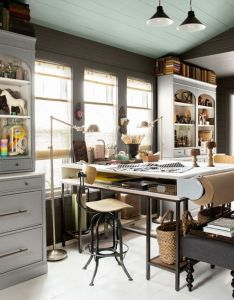amazing and practical craft room design ideas inspirations pinterest also rh