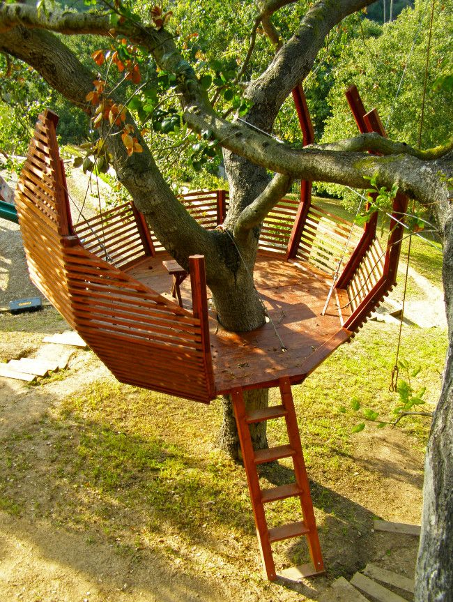 8 Tips For Building Your Own Backyard Treehouse Backyard