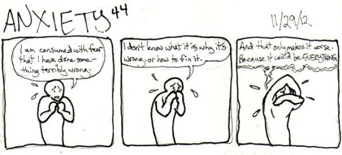 Image result for anxiety comic