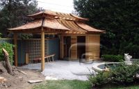 japanese inspired shed | japanese teahouse inspired by the ...