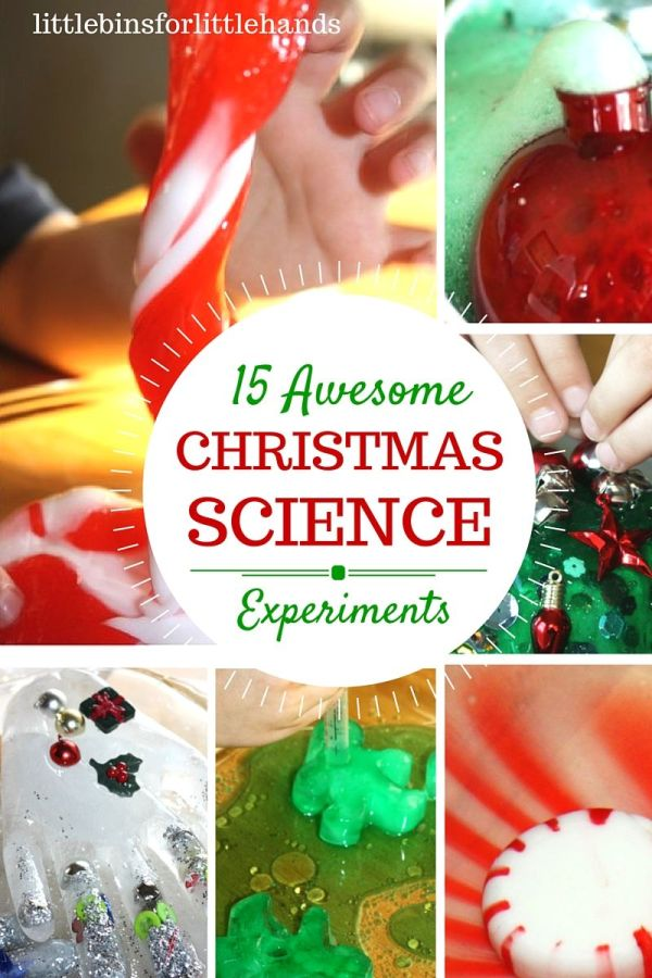 Christmas Science Activities And Experiments Kids