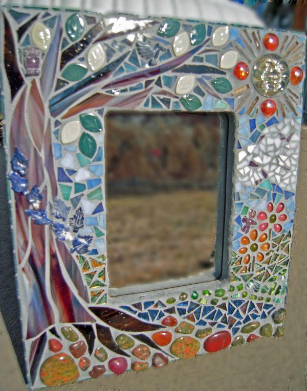 Glass Mosaic Mirror