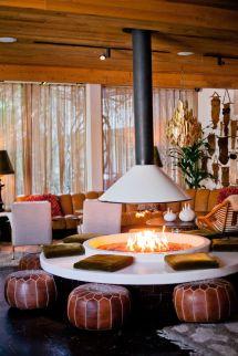 Parker Palm Springs Cozy Lounge Area. Inspo