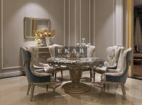 Ekar-furniture-round-marble-table - Dining Table - Luxury ...