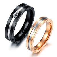 Matching Promise Rings for Him and Her Set of 2 | Couples ...