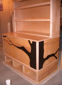 Woodworking Plans - Toy Box with Cubbies and Bookshelf ...