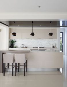 Kitchen modern home designhouse interior also  pinterest open plan rh
