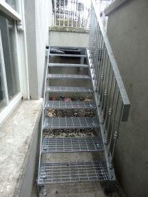 Fire Escape Stairs Brendan Buggy Steel Fabrication