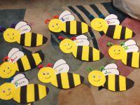 Bumblebee Door Decorations. Materials Needed: Black ...